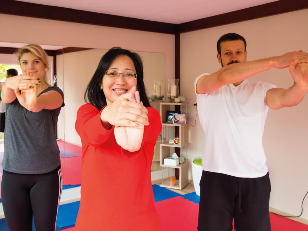 Bestes Yoga lernen im Lingener Stadtteil Damaschke.
