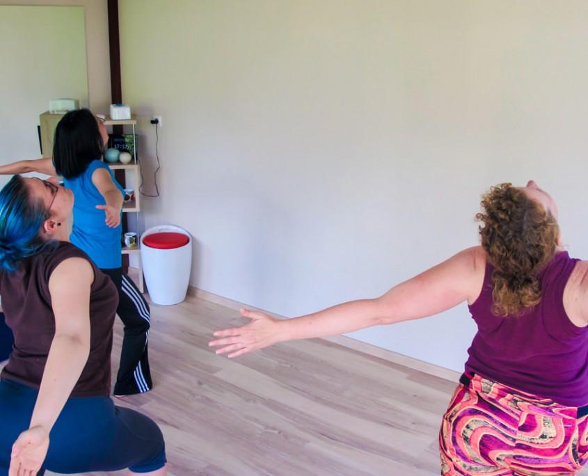 Posen beim Yoga - Lingen bietet die beste Schule im Emsland.