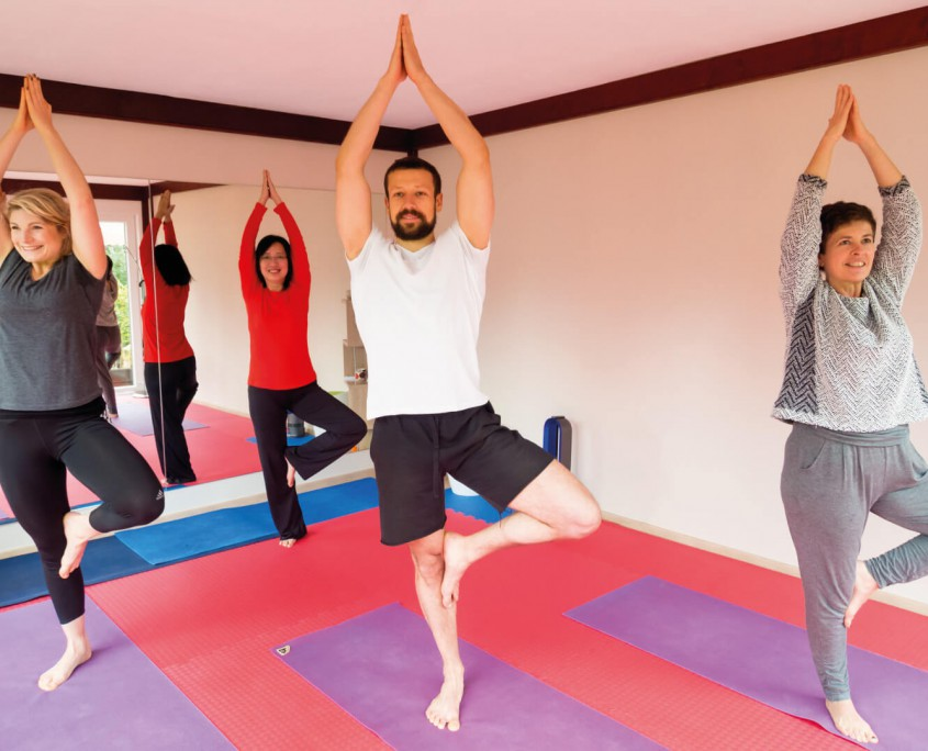 J-Yoga in Lingen, Emsland ist flexibel.