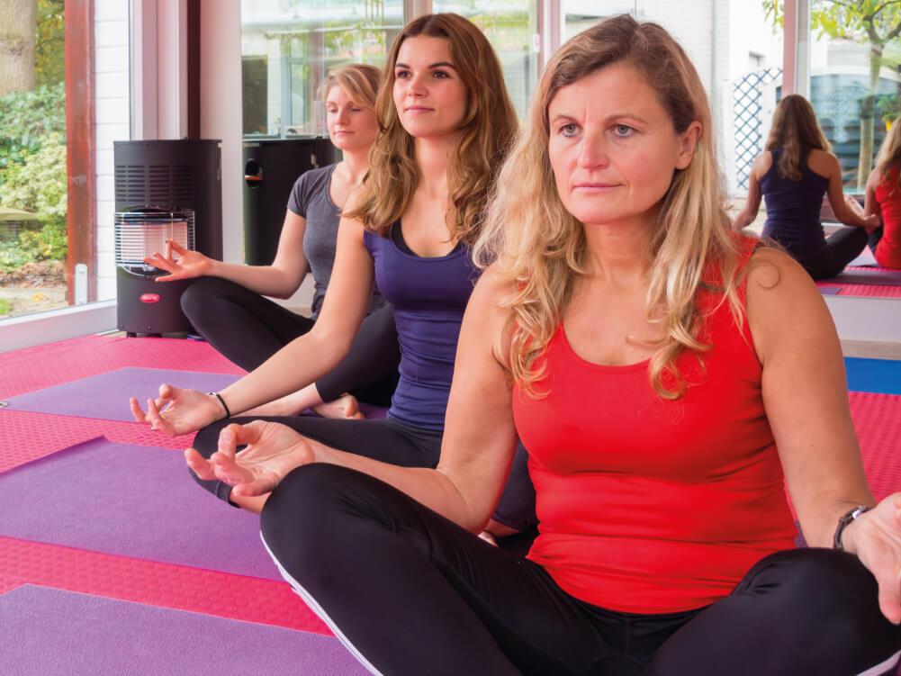 Unterricht bei der Yoga Trainerin in Lingen.