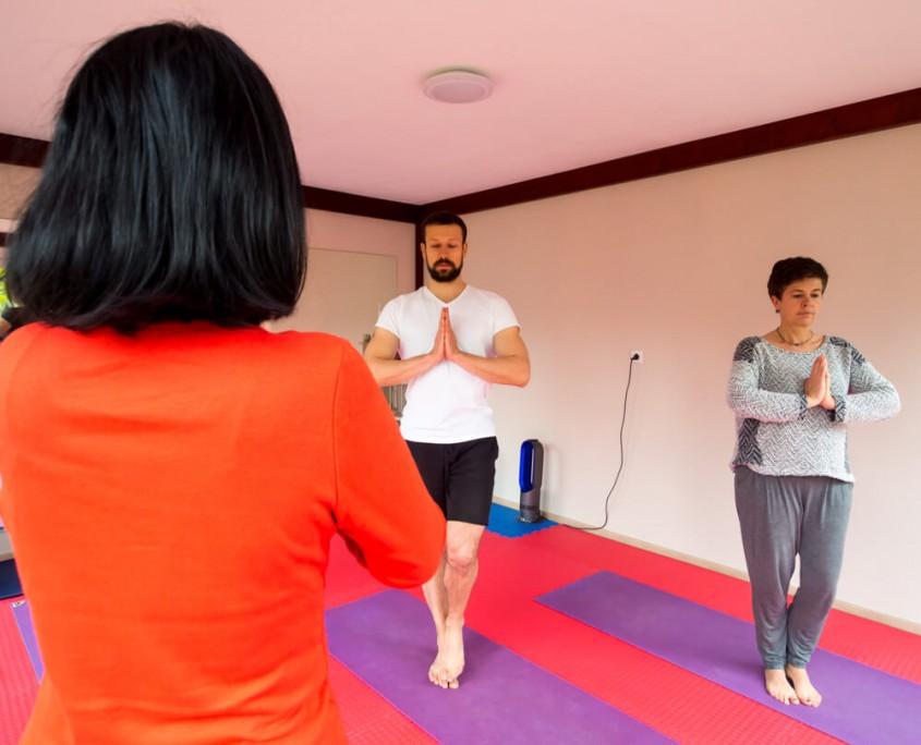 Yoga Unterricht im Emsland.