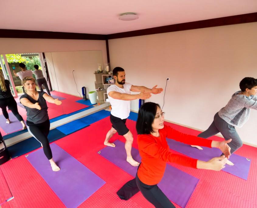 Yoga Unterricht in Lingen.