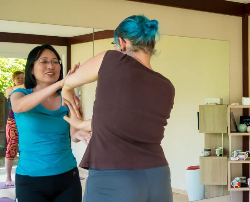 Yoga lernen in Lingen, Damaschke.